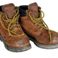 how to clean smelly steel toe boots